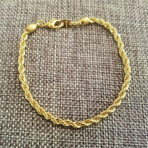 Vtg Avon Signed Rope Bracelet 1923
